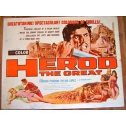 Herod The Great (half sheet)