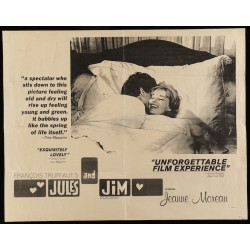 Jules et Jim (Half sheet)