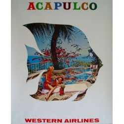 Western Airlines Acapulco...