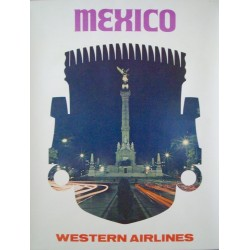 Western Airlines Mexico (1964)