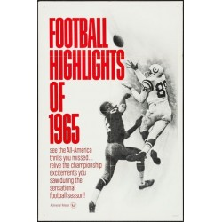 Football Highlights Of 1965