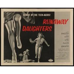 Runaway Daughters (half sheet)