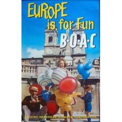 BOAC Europe Is For Fun (1960)