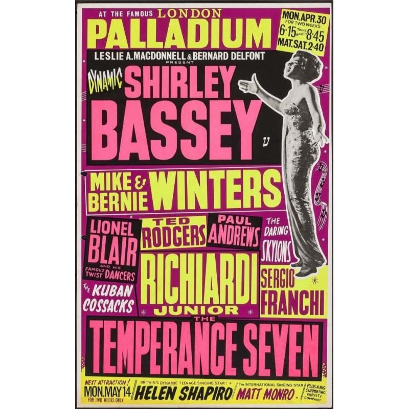 Shirley Bassey - London 1962