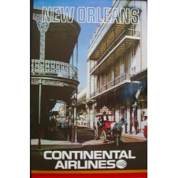 Continental Airlines - New Orleans (1972)