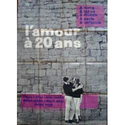 Love At Twenty-L'amour a vingt ans (French style A)
