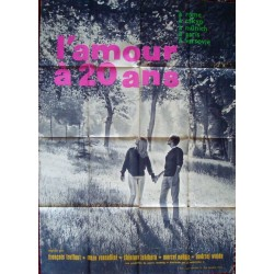 Love At Twenty-L'amour a vingt ans (French style B)