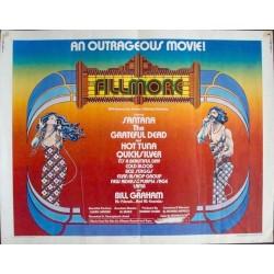 Fillmore The Movie (half sheet)