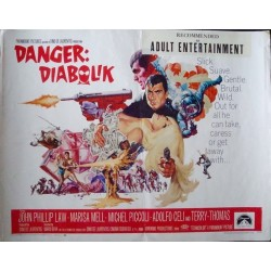 Danger Diabolik (half sheet - 3)