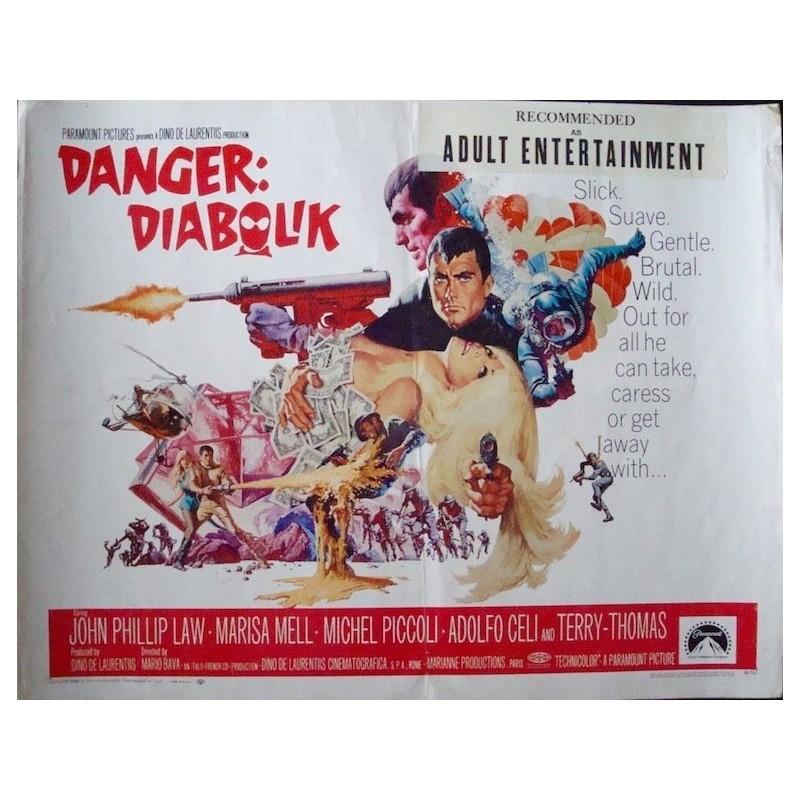 Danger Diabolik (half sheet - 3)