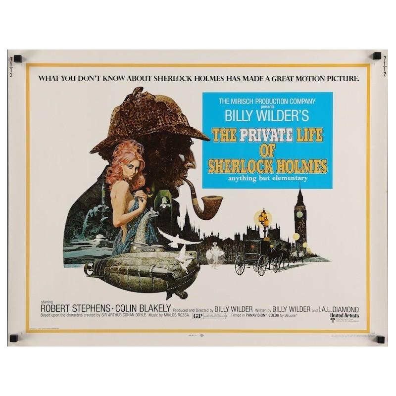 Private Life Of Sherlock Holmes (half sheet)