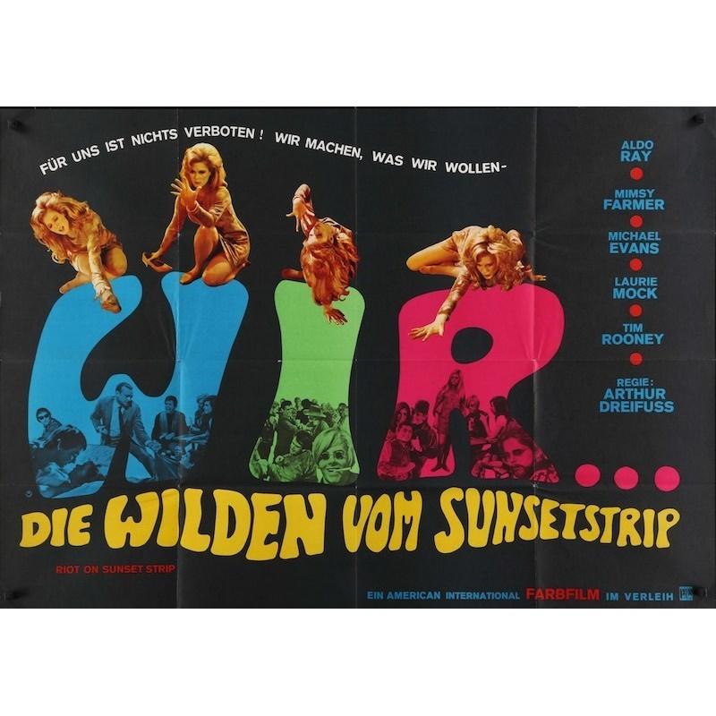 Riot On Sunset Strip (German A0)