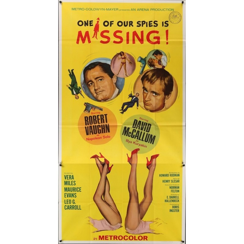 Man From UNCLE: One Of Our Spies Is Missing (3 sheet)