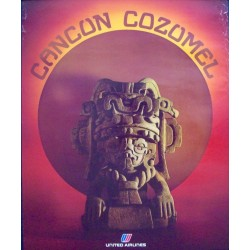 United Airlines - Cancun Cozumel (1978)