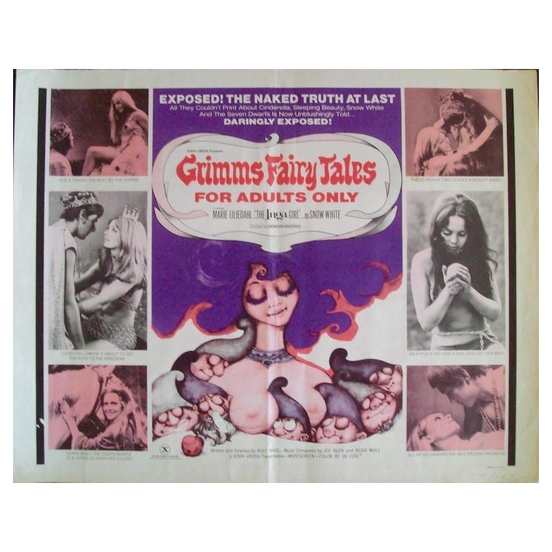 Grimm's Fairy Tales For Adults (half sheet)