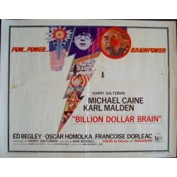 Billion Dollar Brain (half sheet)
