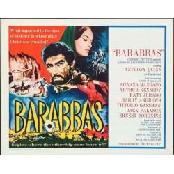 Barabbas (half sheet style A)