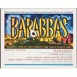 Barabbas (half sheet style B)