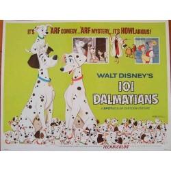 101 Dalmatians (half sheet)