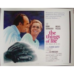 Things Of Life-Les choses de la vie (half sheet)