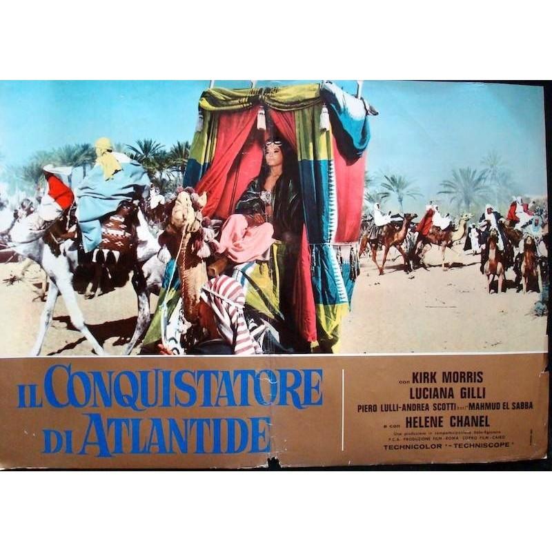Conqueror Of Atlantis (fotobusta 2)
