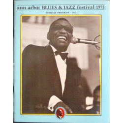 Ann Arbor Jazz and Blues festival 1973 (program)