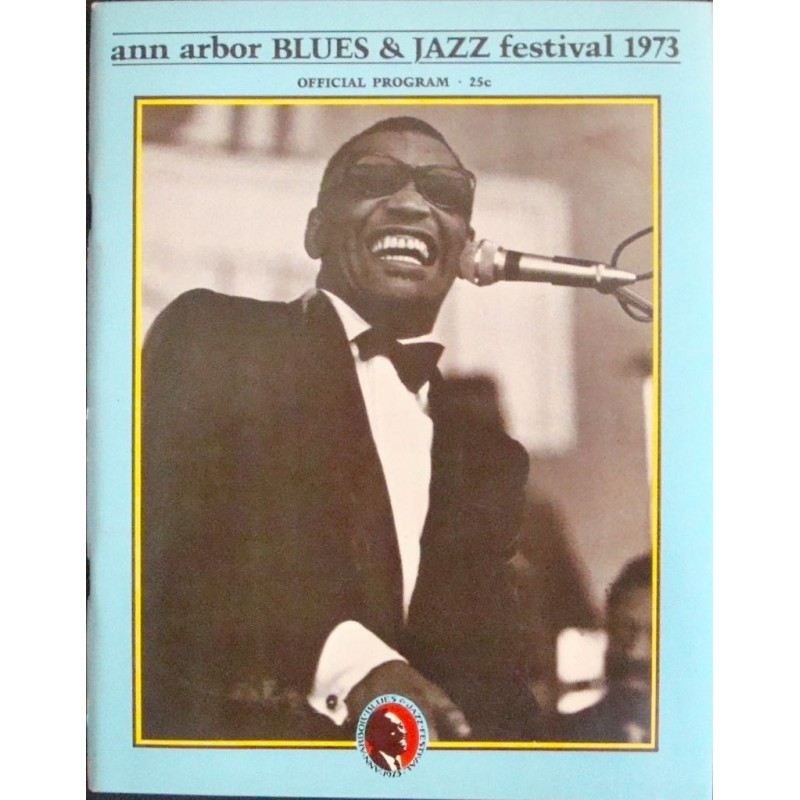 Ann Arbor Jazz and Blues festival 1973 (program)