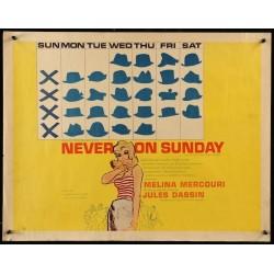 Never On Sunday (half sheet)
