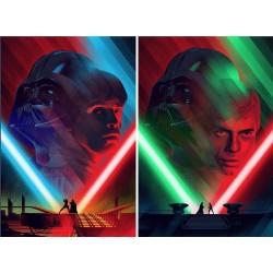Star Wars: Duels (Mondo R2016 set of 2)