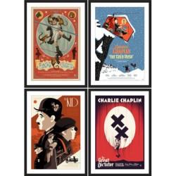 Charles Chaplin (R2017 set of 4)