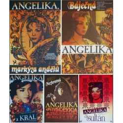 Angelique (Czech A3 set of 5)