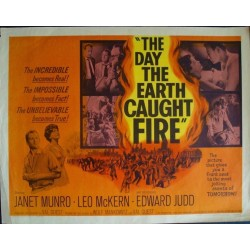 Day The Earth Caught Fire (half sheet)