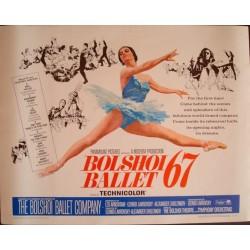 Bolshoi Ballet 67 (half sheet)