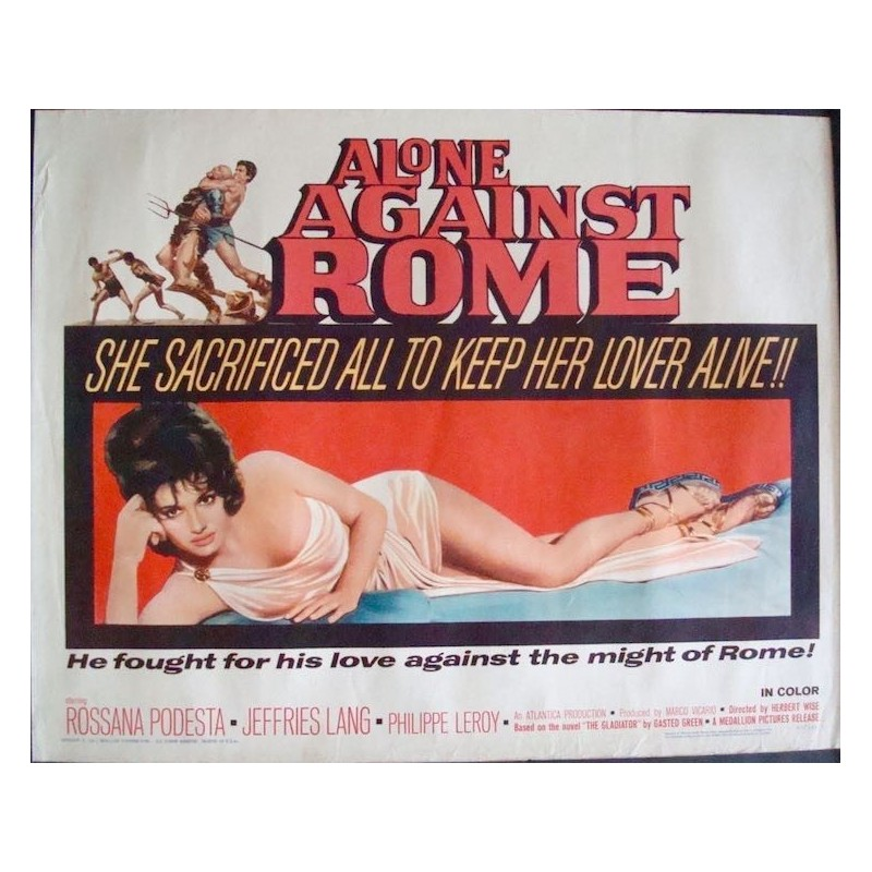 Alone Against Rome (half sheet)