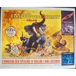 Bimbo The Great (half sheet)