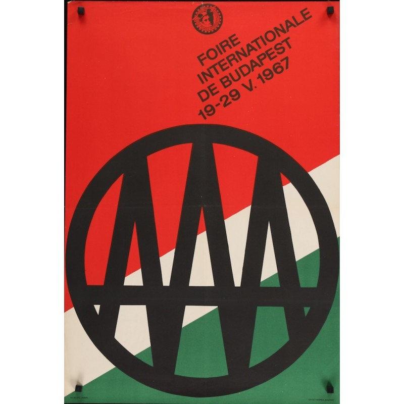 Foire internationale de Budapest 1967 (Hungarian)