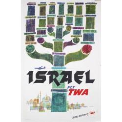 TWA Fly Israel (1964 - LB)