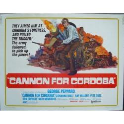 Cannon For Cordoba (half sheet)