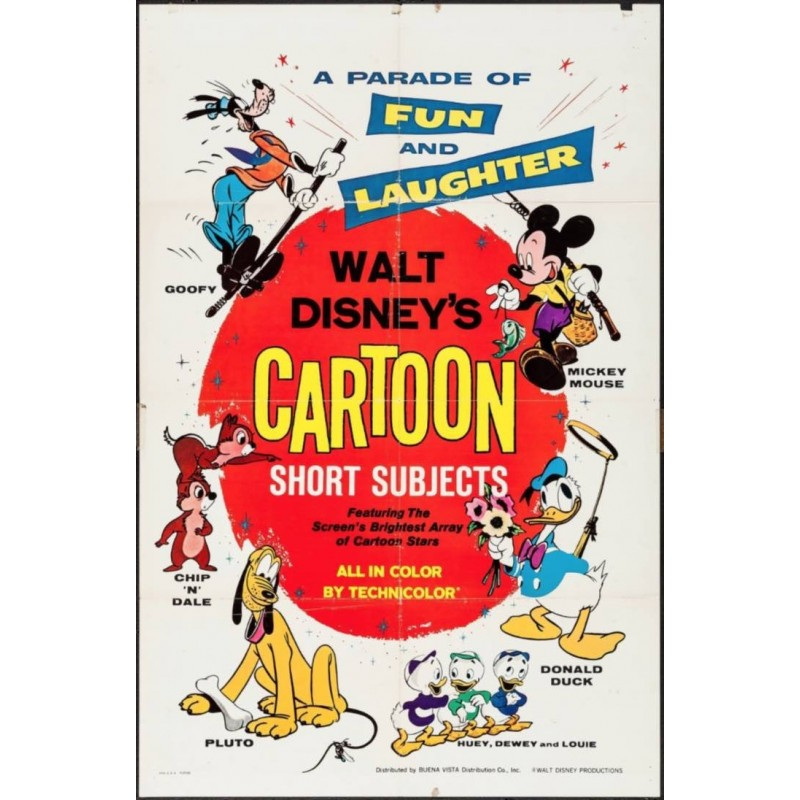 Walt Disney's Cartoon Short Subjects