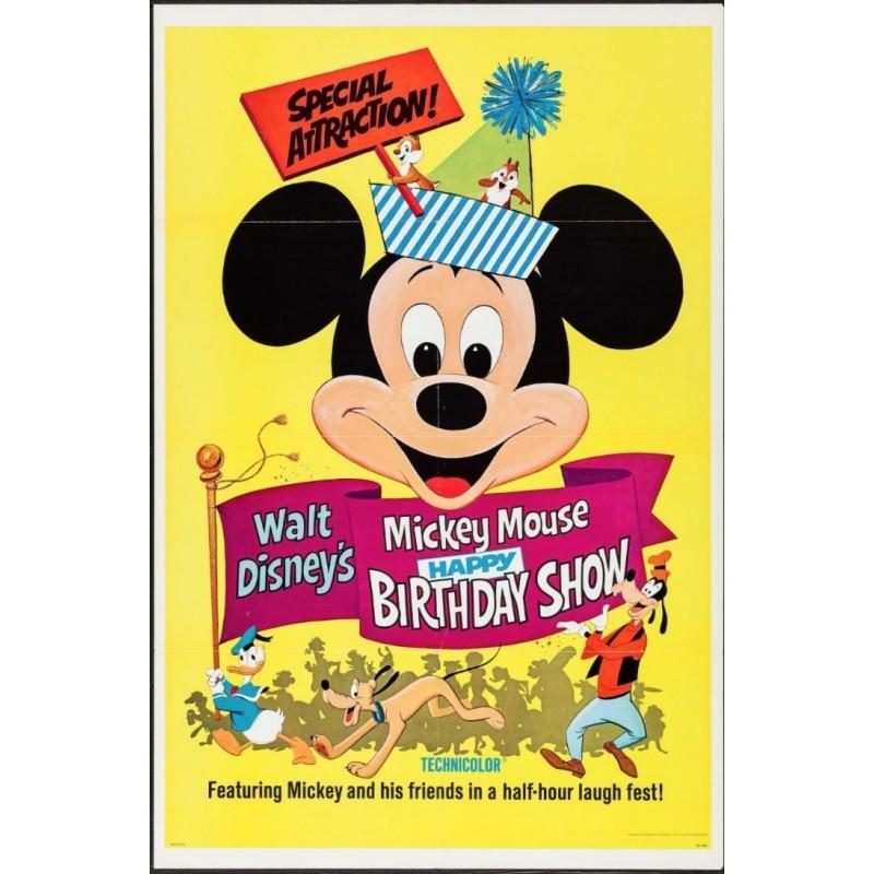 Mickey Mouse Happy Birthday Show