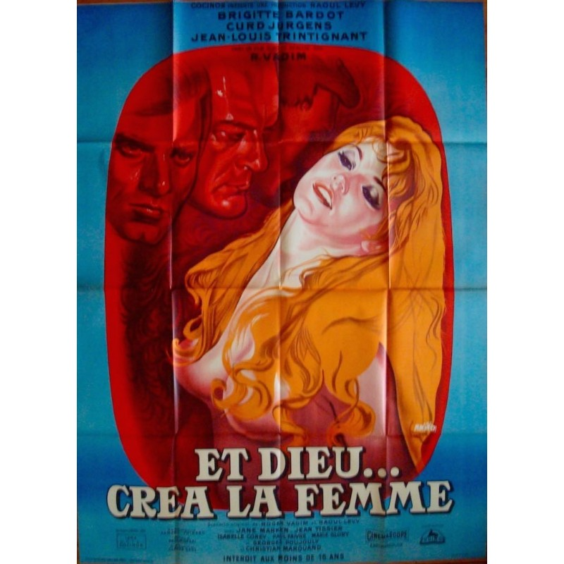 And God Created Woman (French R64)