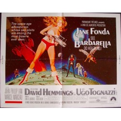 Barbarella (half sheet)