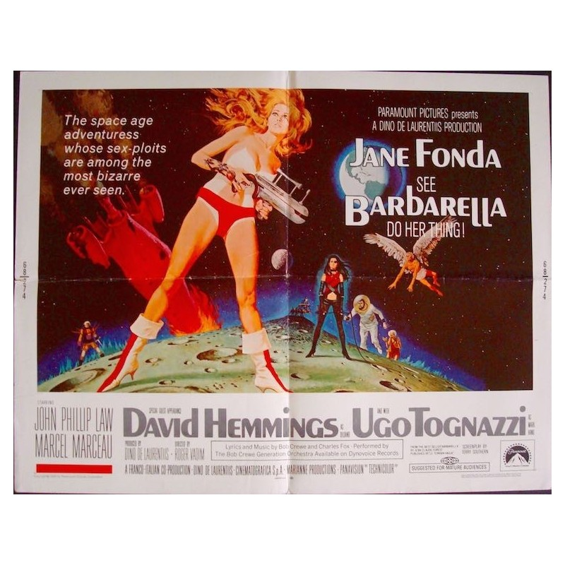 Barbarella (half sheet)