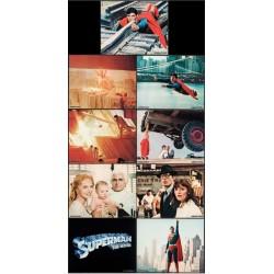 Superman The Movie (lobby cards set of 9)