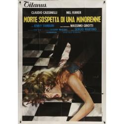 Supsicious Death Of A Minor (Italian 2F)