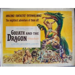 Goliath And The Dragon (half sheet)