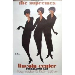 Supremes - Lincoln Center 1965