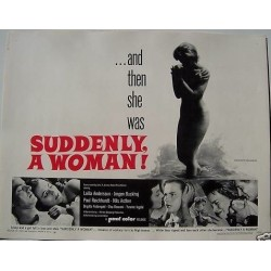 Suddenly A Woman (Half sheet)