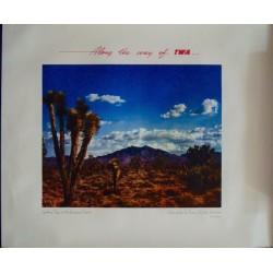 TWA Arizona Joshua tree (1950)