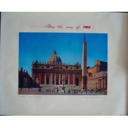 TWA Rome Vatican (1950)